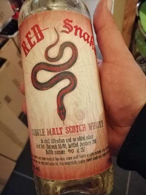 Blackadder Red Snake cask Redneck 55/01