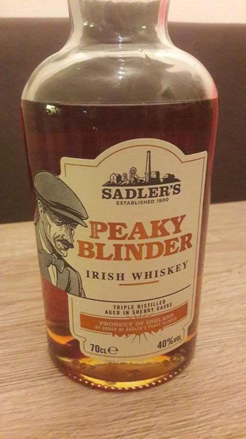 Peaky Blinder Irish Whiskey
