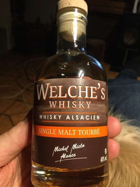 Welche's Whisky Single Malt Tourbé 40%