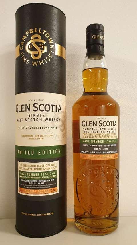 Glen Scotia 2005/2018 cask 17/413-8