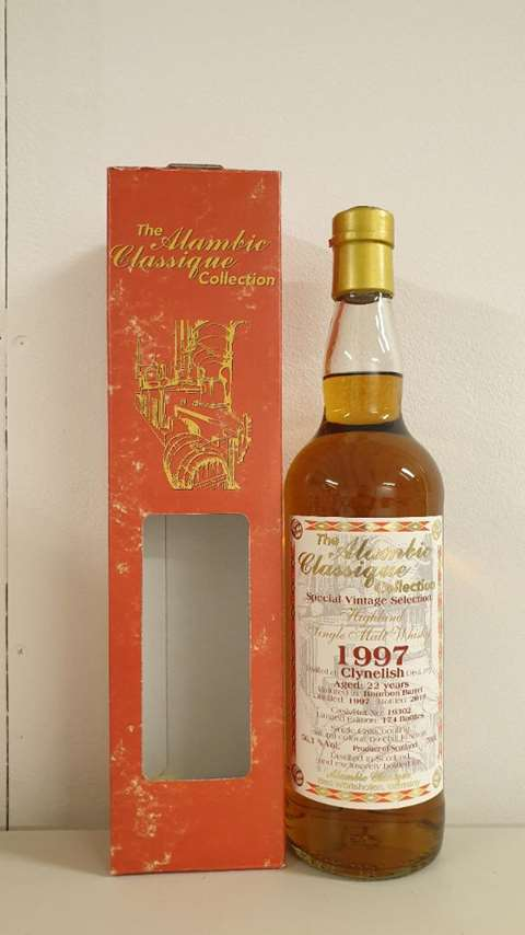 Clynelish 22 year old 1997/2019 cask 19302 - Alambic Classique
