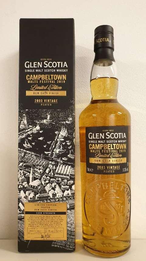 Glen Scotia Campbeltown Malts Festival 2019 Rum Cask Finish