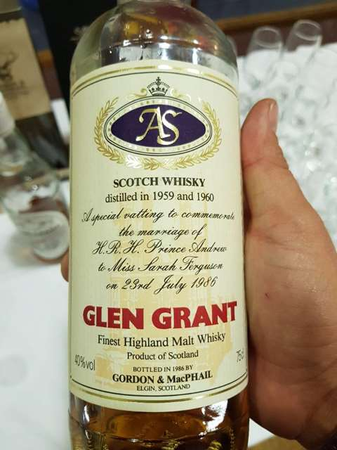 Glen Grant 26 year old 1960/1986 Prince Andrew