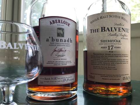 The Balvenie 17 year old SherryOak