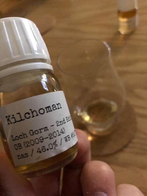 Kilchoman Loch Gorm 2nd edition