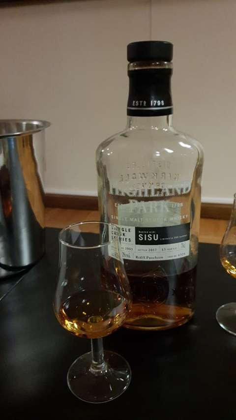 Highland Park 13 year old Single Cask Sisu