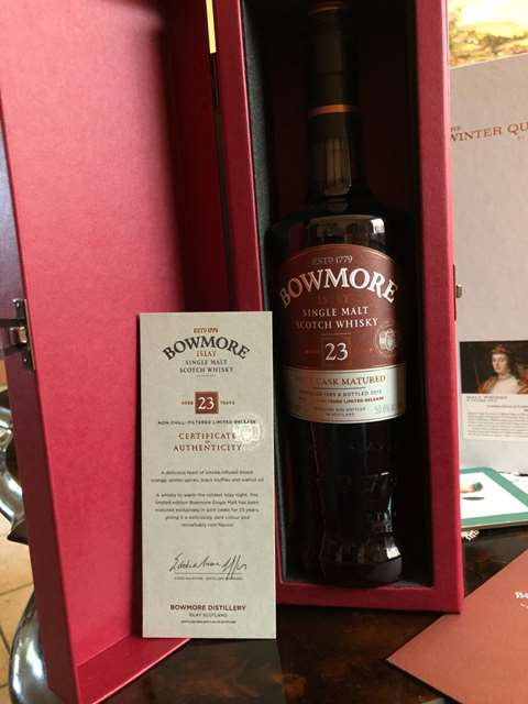 Bowmore 23 year old 1989 Port Cask Matured