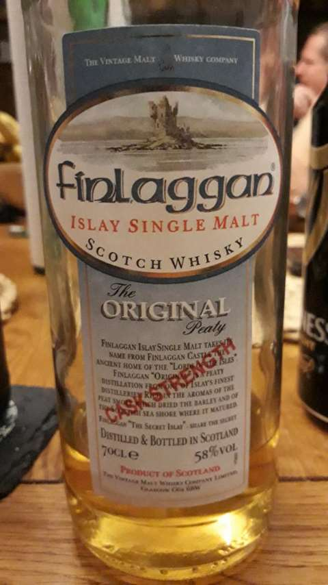 Finlaggan The Original Peaty Cask Strength