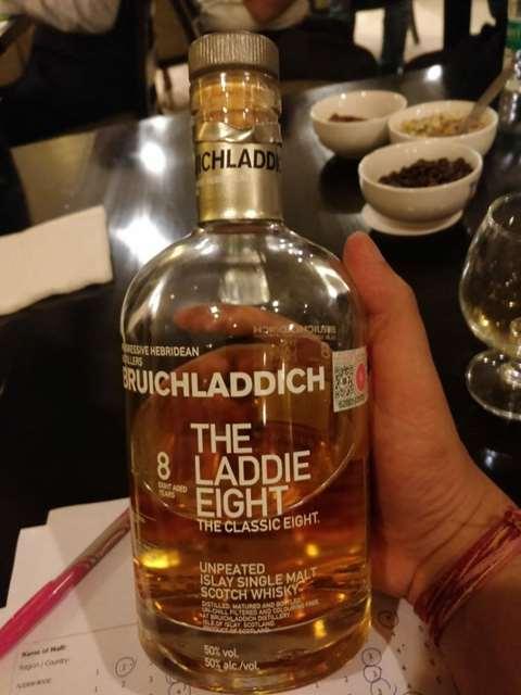 Bruichladdich 8 year old The Laddie Eight