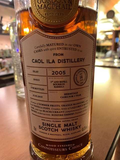 Caol Ila 14 year old 2005/2019 batch 19/013
