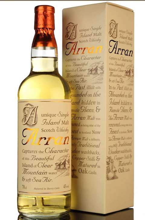 Arran Matured in Sherry Casks