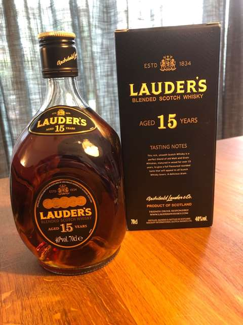 Lauder's 15 year old