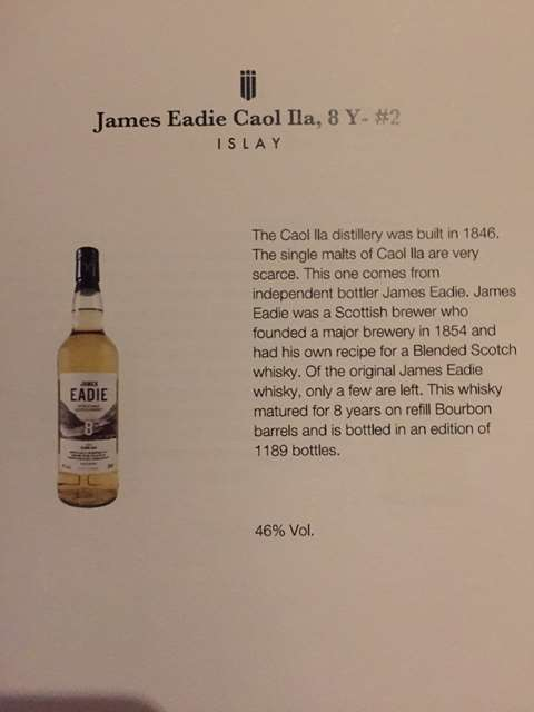 Caol Ila 8 year old 2008/2017 cask 315430 & 315432