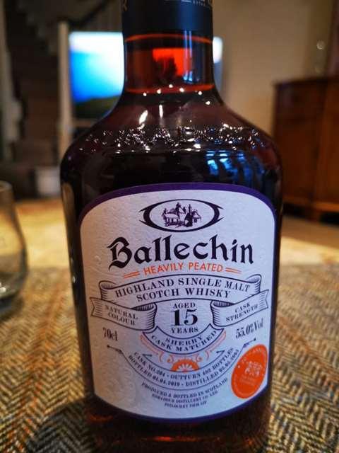 Ballechin 15 year old 2003/2019 cask 204