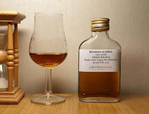 Bowmore 20 year old 1997/2018 cask 2414