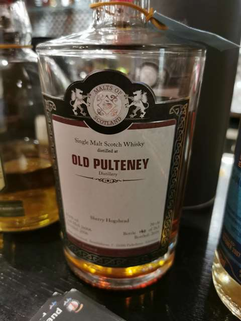 Old Pulteney 2006/2016 cask MoS 16006