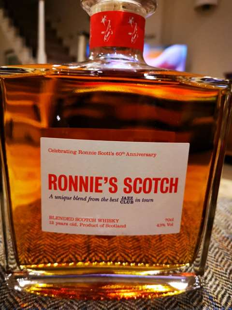 Tomintoul 12 year old Ronnie's Scotch