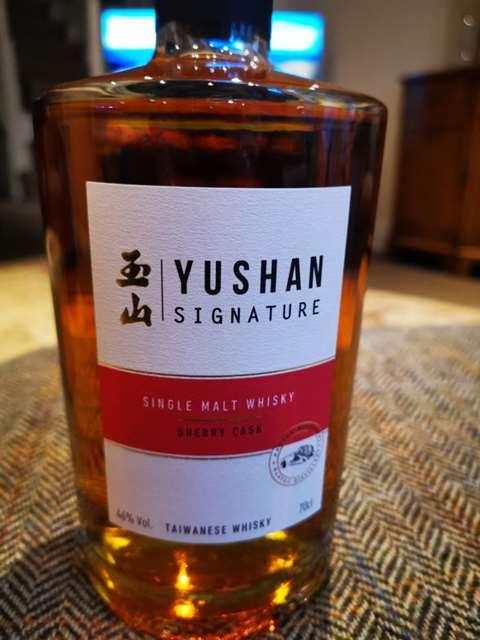 Yushan Signature Sherry Cask