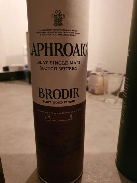 Laphroaig Brodir Final Batch