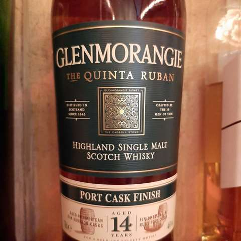 Glenmorangie 14 year old Quinta Ruban
