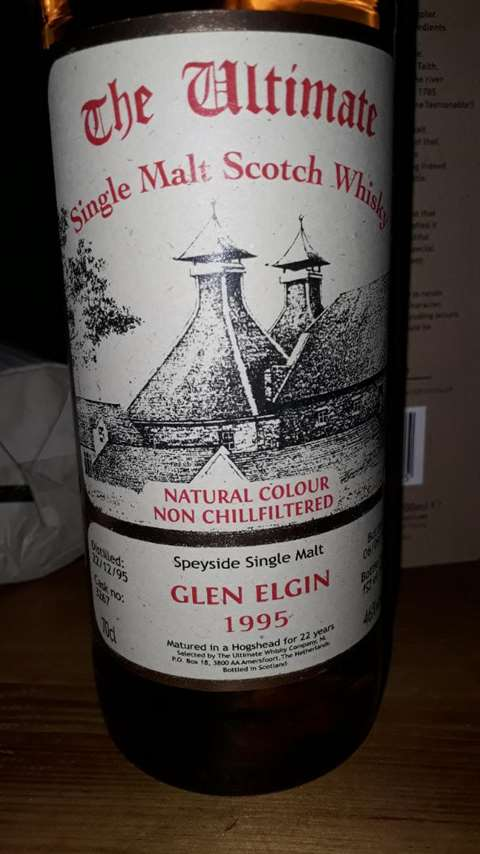 Glen Elgin 1995/2018 cask 3267