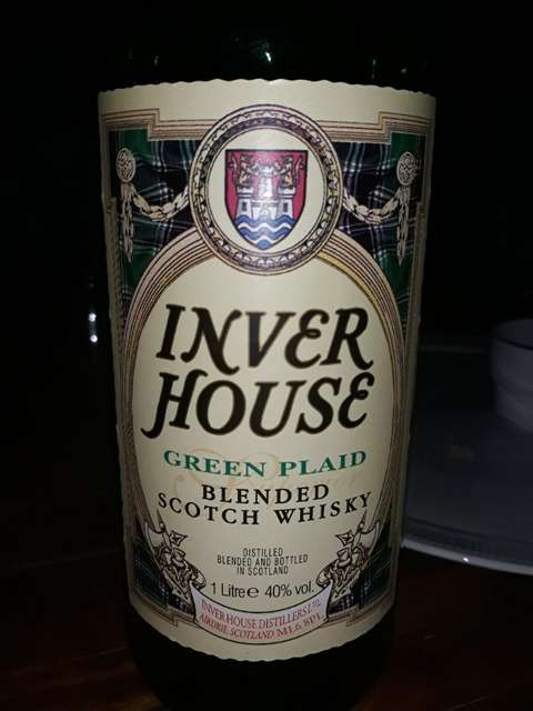 Inver House Green Plaid