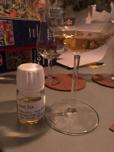 Caol Ila 21 year old 1990 cask 6912