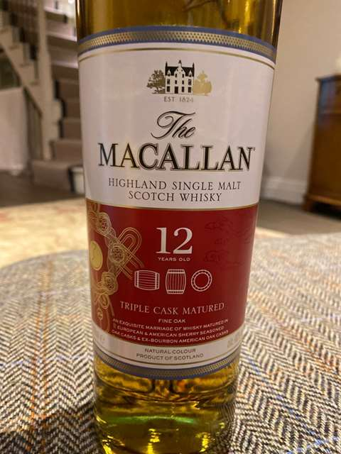 The Macallan 12 year old Triple Cask Matured, Chinese New Year