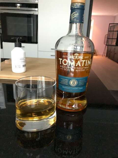 Tomatin 8 year old Bourbon & Sherry Casks