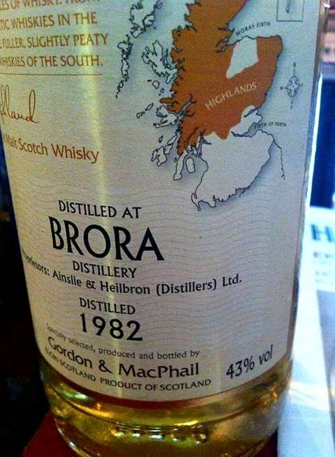 Brora 26 year old Sherry