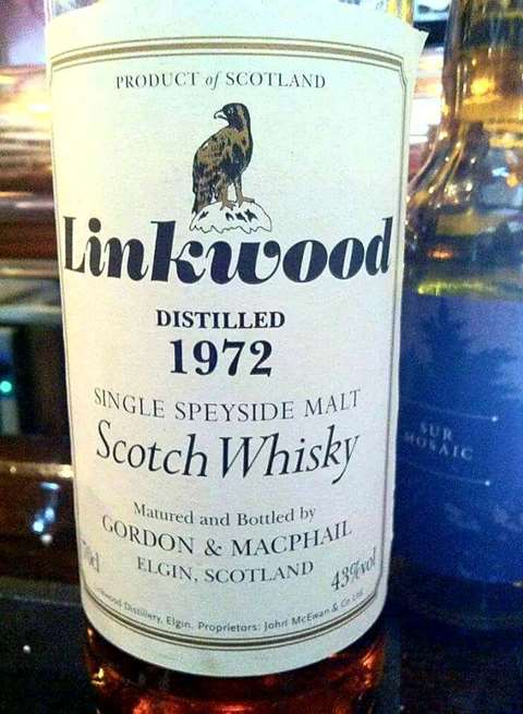 Linkwood 1972 year old Sherry cask