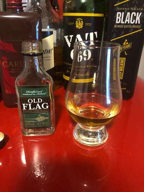 Old Flag Blended Irish Whiskey